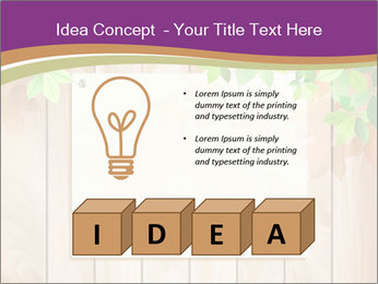Cute Card On Wooden Board PowerPoint Templates - Slide 80