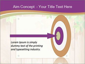 Cute Card On Wooden Board PowerPoint Templates - Slide 83