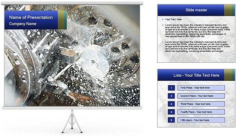 Metal Industry PowerPoint Template