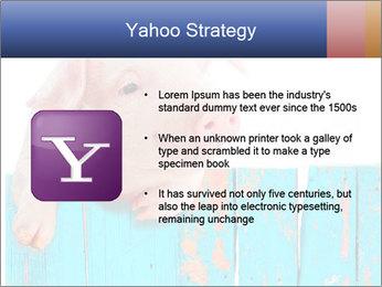 Cute Pink Piggy PowerPoint Template - Slide 11