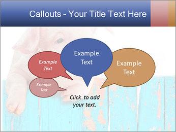 Cute Pink Piggy PowerPoint Template - Slide 73