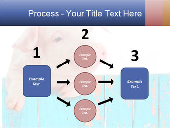Cute Pink Piggy PowerPoint Template - Slide 92