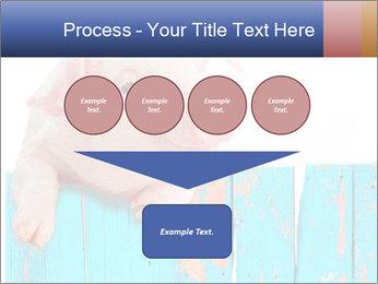 Cute Pink Piggy PowerPoint Template - Slide 93