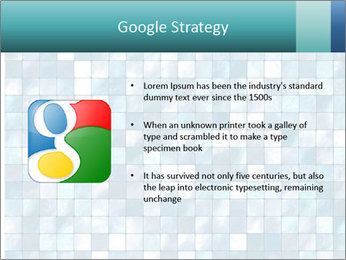 Blue Pixel PowerPoint Template - Slide 10