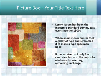 Blue Pixel PowerPoint Template - Slide 13