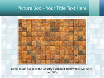 Blue Pixel PowerPoint Template - Slide 16