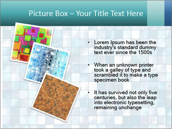 Blue Pixel PowerPoint Template - Slide 17