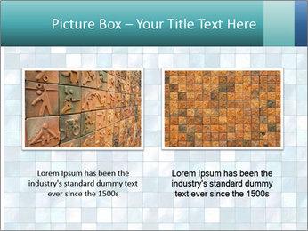 Blue Pixel PowerPoint Template - Slide 18