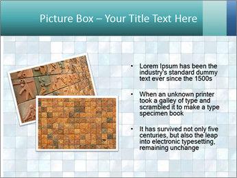 Blue Pixel PowerPoint Template - Slide 20