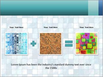 Blue Pixel PowerPoint Template - Slide 22