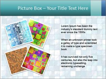 Blue Pixel PowerPoint Template - Slide 23