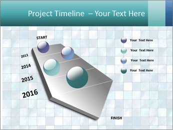 Blue Pixel PowerPoint Templates - Slide 26