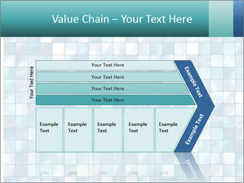 Blue Pixel PowerPoint Templates - Slide 27