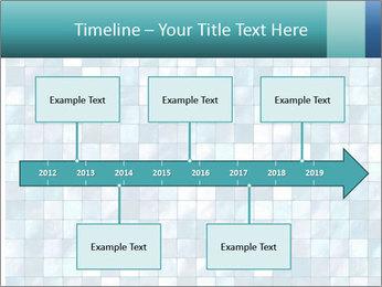 Blue Pixel PowerPoint Template - Slide 28
