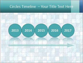 Blue Pixel PowerPoint Template - Slide 29