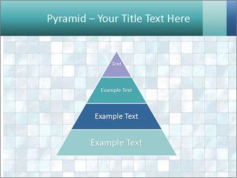 Blue Pixel PowerPoint Template - Slide 30