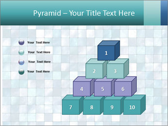 Blue Pixel PowerPoint Template - Slide 31