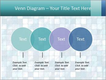 Blue Pixel PowerPoint Template - Slide 32