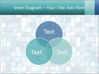 Blue Pixel PowerPoint Template - Slide 33