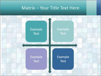 Blue Pixel PowerPoint Template - Slide 37