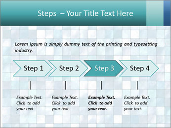 Blue Pixel PowerPoint Template - Slide 4