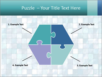 Blue Pixel PowerPoint Template - Slide 40