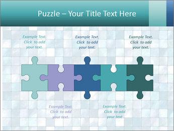 Blue Pixel PowerPoint Template - Slide 41