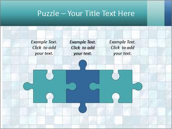 Blue Pixel PowerPoint Template - Slide 42