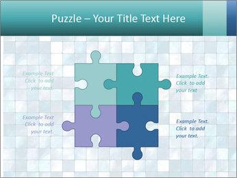 Blue Pixel PowerPoint Template - Slide 43