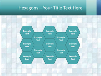 Blue Pixel PowerPoint Template - Slide 44