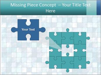 Blue Pixel PowerPoint Template - Slide 45