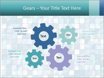 Blue Pixel PowerPoint Template - Slide 47