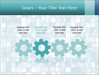 Blue Pixel PowerPoint Template - Slide 48
