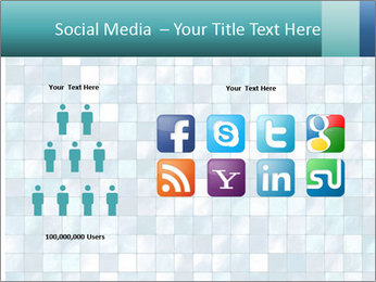 Blue Pixel PowerPoint Template - Slide 5