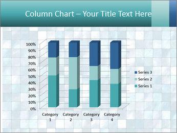 Blue Pixel PowerPoint Template - Slide 50