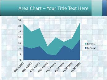 Blue Pixel PowerPoint Template - Slide 53