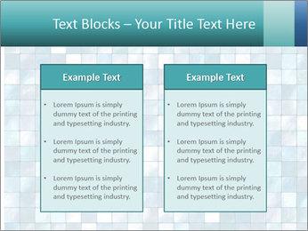 Blue Pixel PowerPoint Template - Slide 57