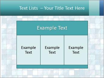 Blue Pixel PowerPoint Template - Slide 59