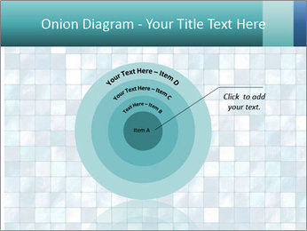 Blue Pixel PowerPoint Template - Slide 61