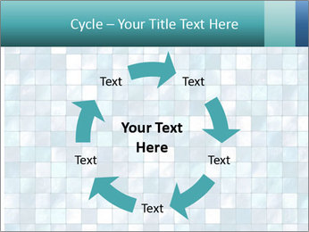 Blue Pixel PowerPoint Template - Slide 62