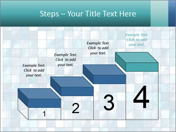 Blue Pixel PowerPoint Template - Slide 64
