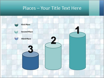 Blue Pixel PowerPoint Template - Slide 65