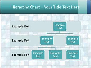 Blue Pixel PowerPoint Template - Slide 67