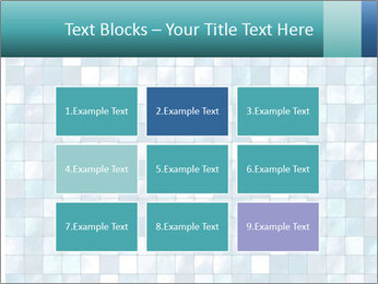 Blue Pixel PowerPoint Template - Slide 68