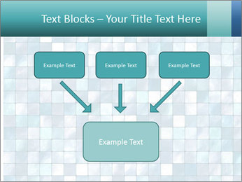 Blue Pixel PowerPoint Template - Slide 70