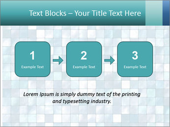 Blue Pixel PowerPoint Template - Slide 71