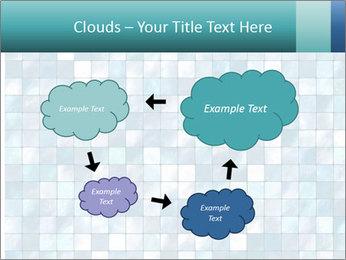 Blue Pixel PowerPoint Template - Slide 72