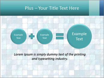 Blue Pixel PowerPoint Template - Slide 75