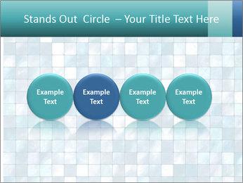 Blue Pixel PowerPoint Template - Slide 76