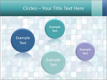Blue Pixel PowerPoint Template - Slide 77